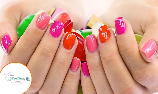 Pintado de uñas con color gel ¡Luce unas uñas increibles en Todo Belleza Salon Spa!