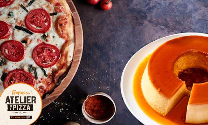 Promo Sweet Pizza Familiar a eleccion postre a eleccion delivery