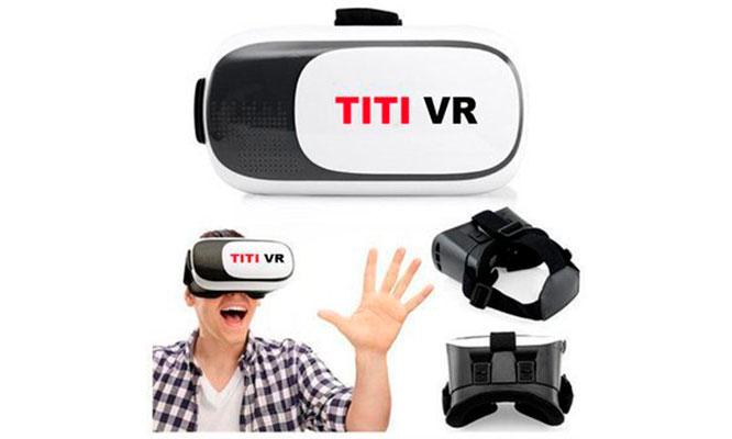 Lentes de realidad virtual TITI VR 3D para smartphone¡Delivery en 24 hrs!