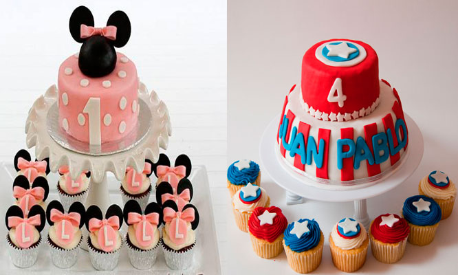 Torta personalizada 12 cupcakes 3D Delivery