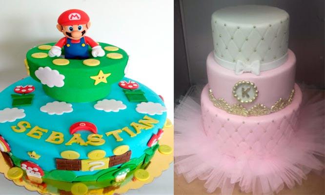 Torta elastica tematica para 20 30 o 50 personas
