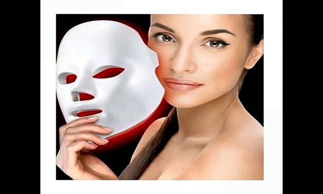 Fotorejuvenecimiento con Mascarilla LED afinamiento de rostro con carboxiterapia y mas