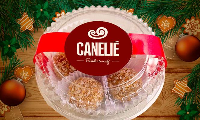 6 panetones en caja una caja de trufas navideñas y mas