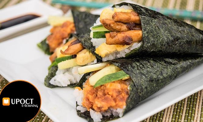 Clase online de cocina japonesa ¡Makis sushi temakis y mas!