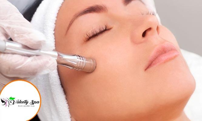 Face Rescue dermoabrasion A frecuencia Ac hialuronico colageno Vit C y mas