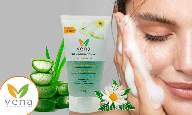 Gel limpiador facial o Exfoliante de manos o de pies o Set completo Vena delivery