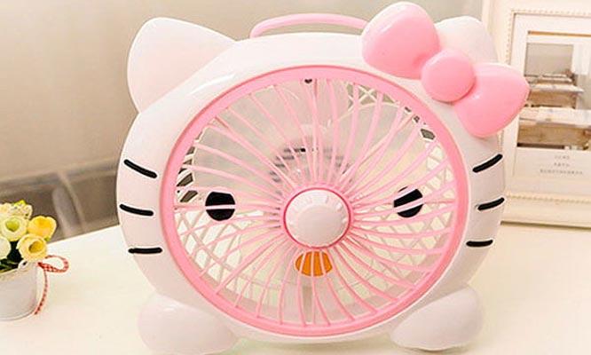 Ventilador Portatil de Hello Kitty delivery