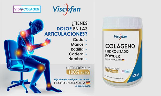 Colageno Hidrolizado 300g o 500g Viscofan Aleman ¡Incluye delivery!
