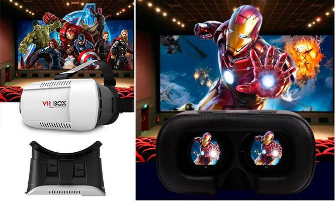Gafas De Realidad Virtual Para Video Juegos Online Peliculas En 3d