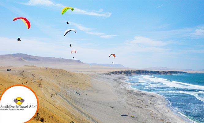 Full Day Playas de Paracas Servicio VIP Traslados tour Huacachina y mas