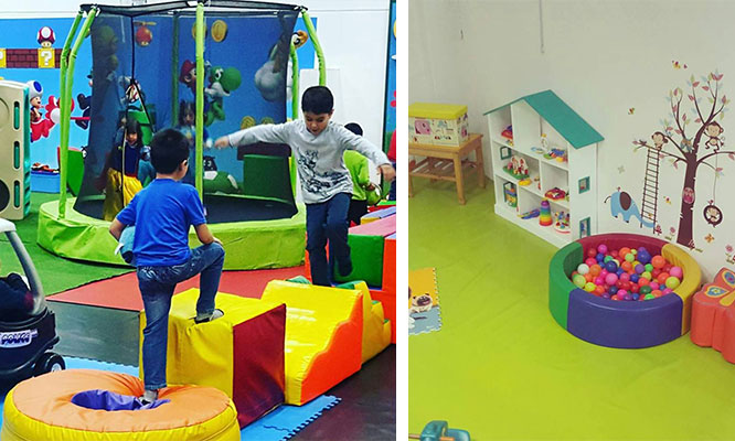 Centro de juegos infantiles 1 entrada niño 1 entrada adulto en Wannabe Camacho