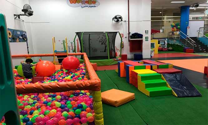 Centro De Juegos Infantiles 1 Entrada Nino 1 Entrada Adulto En