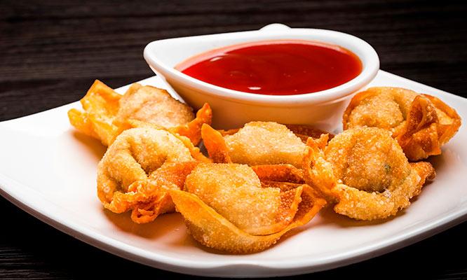 20 o 40 Wantanes a eleccion salsa de tamarindo delivery