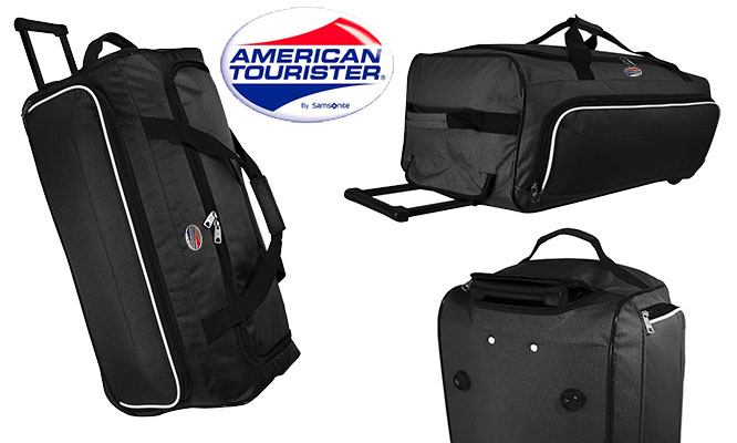 Delivery American Tourister by Samsonite® Wheel duffle - Maletin Turista negro
