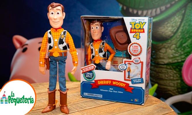 SHERIFF WOODY ANIMA TRONIC o TOY STORY 4 JESSIE LA VAQUERA - TOY STORY 4