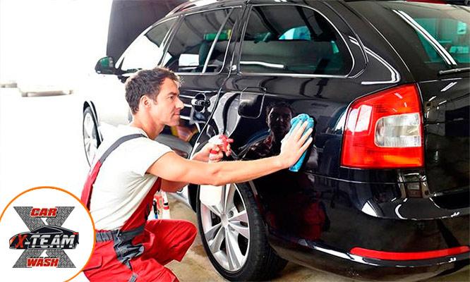 Lavado desinfeccion con amonio C-5taG VIP Premium o Full Salon para auto o camioneta