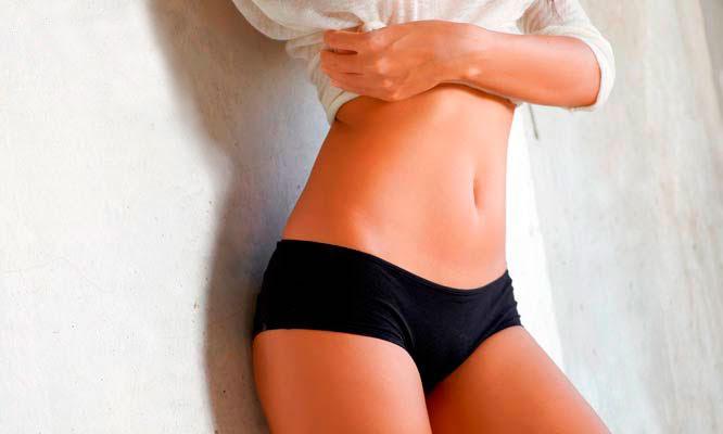 Tratamiento de yesoterapia estetica corporal en cintura y abdomen