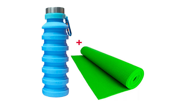 Yoga Mat tomatodo expandible ¡delivery incluido 24 hrs!