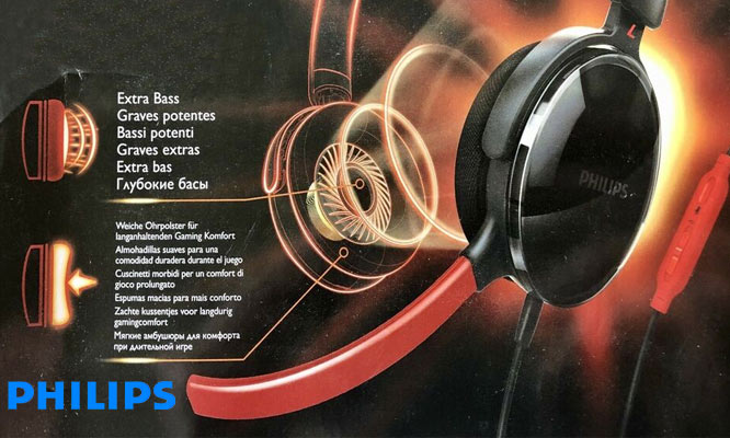 Audifonos Gamers SHG7210 Philips® con microfono ¡Incluyen delivery!
