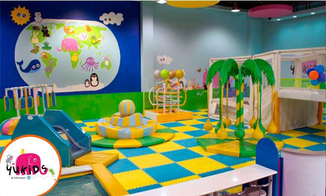 01 hora de juegos para niños en Yukids