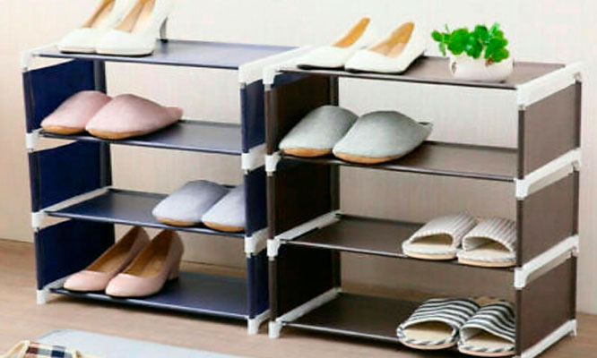 Zapatera de 5 pisos metalica (10 pares de zapatos) Delivery