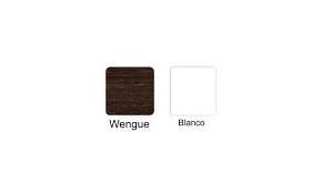 Delivery 1 o 2 repisas ZigZag Wengue o Blanco